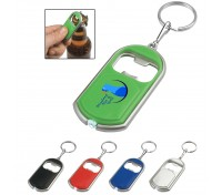 Bottle Opener With LED Light Key Tag