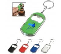 Bottle Opener With LED Light Key Tag