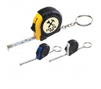 Rubber Tape Measure Key Tag