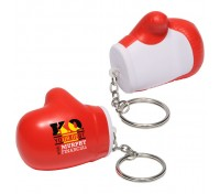 Boxing Glove Stress Ball Key Tag