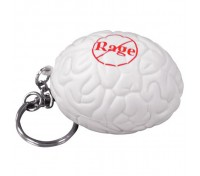 Brain Stress Ball Key Tag