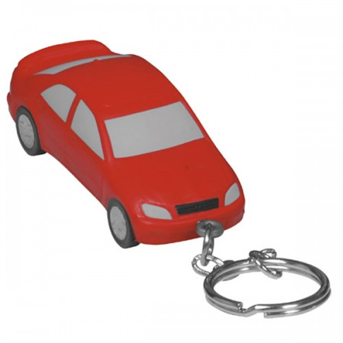 Large Car Stress Ball Key Tag