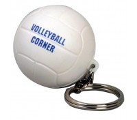 Volleyball Stress Ball Key Tag
