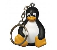 Penguin #2 Stress Ball Key Tag