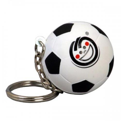 Soccer Stress Ball Key Tag