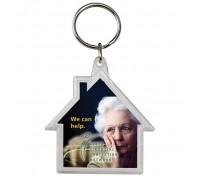 House Crystal Keytag