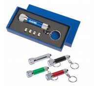 Aluminum LED Flashlight Key Chain