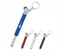 Mini Tire Gauge Key Tag