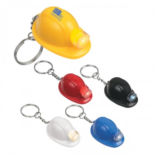 Hard Hat LED Key Tag