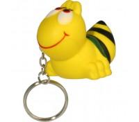 Bee Stress Ball Key Tag