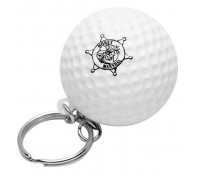 Golf Ball Stress Ball Key Tag
