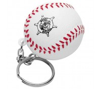 Baseball Stress Ball Key Tag