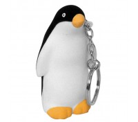 Penguin Stress Ball Key Tag