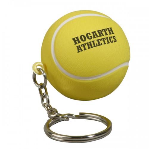 Tennis Stress Ball Key Tag
