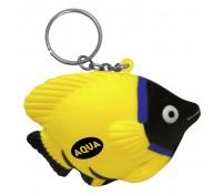 Fish Stress Ball Key Tag