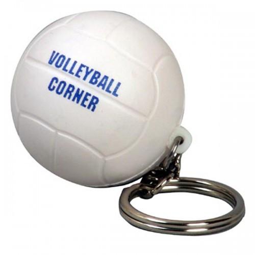 Volleyball Stress Ball Key Tag
