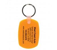 Oval Soft Keytag