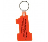 Number One Soft Keytag
